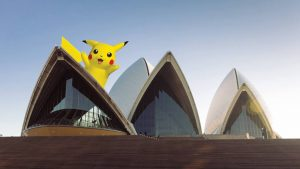 Pikachu Sydney